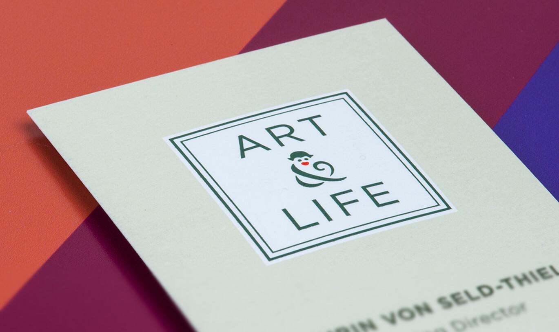 Verinion – Kunde Logo-Entwicklung Art & Life