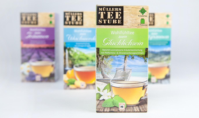 Verinion – Kunde Cosumer BrandingMüllers Teestube
