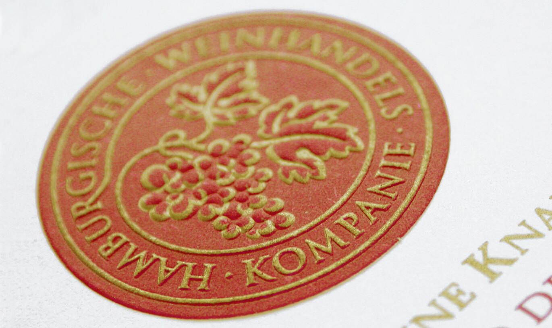 Verinion – Kunde Logo-Entwicklung Hamburgerische Weinhandelskompanie