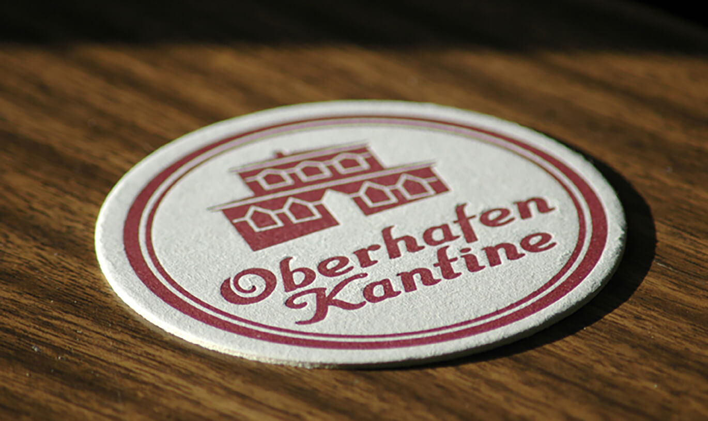Verinion – Logo-Entwicklung Kunde Oberhafen-Kantine